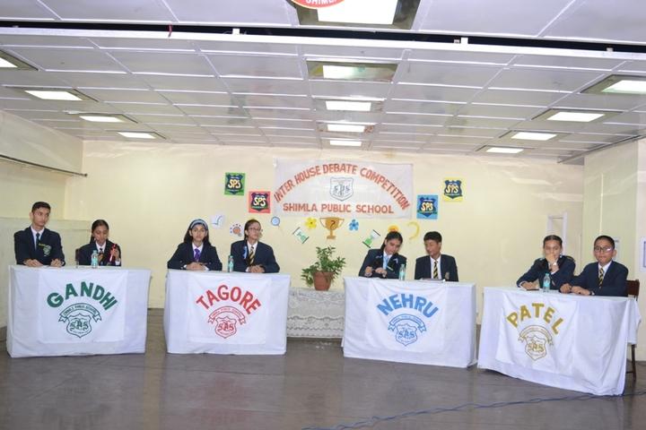 Shimla Public School-Debate Competition