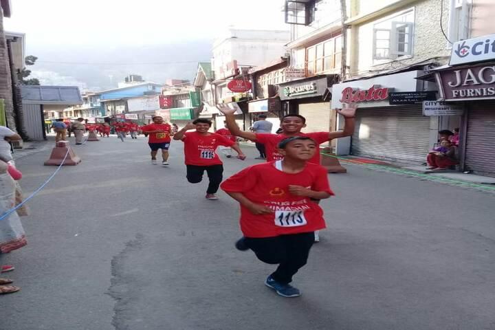 Shimla Public School-Marathon