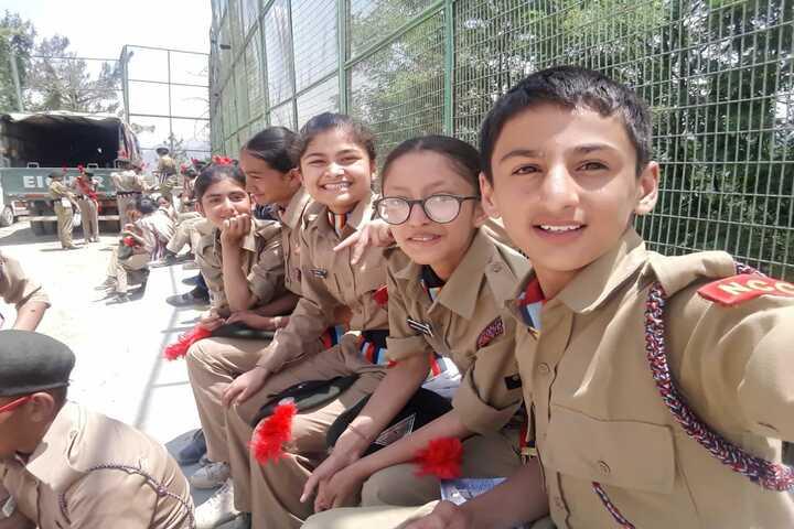 Shimla Public School-NCC Camp