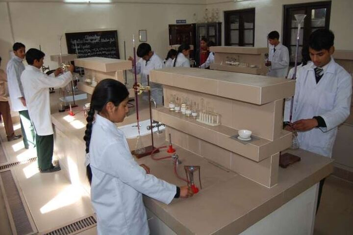 St Pauls Senior Secondary School-Chemistry Lab