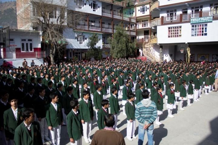 Kullu Valley School-Assembly