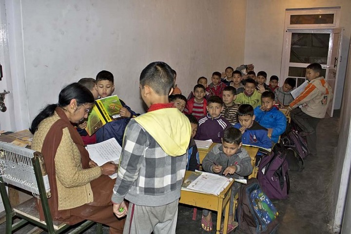 Kullu Valley School-Classroom
