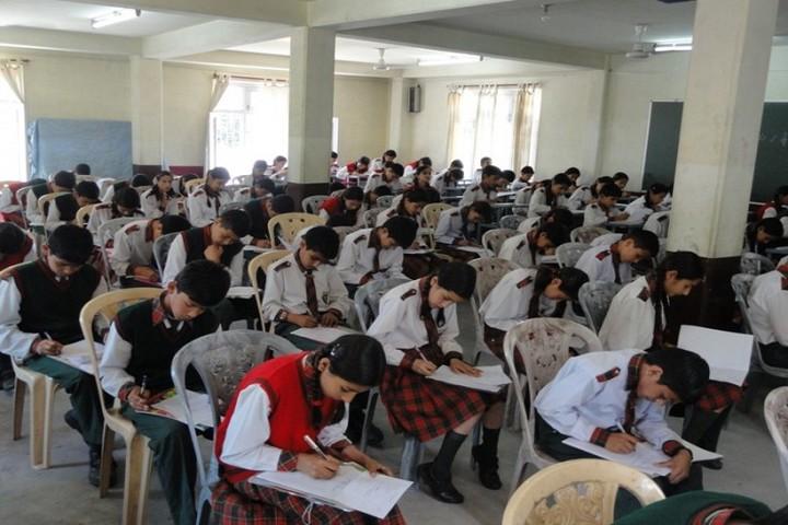 Kullu Valley School-Exam Hall