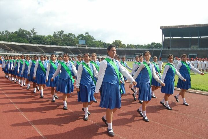 Sacred Heart Convent School-March Past