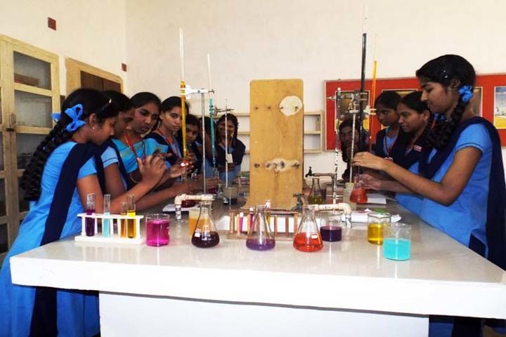J Sikile Foundation School-Chemistry Lab