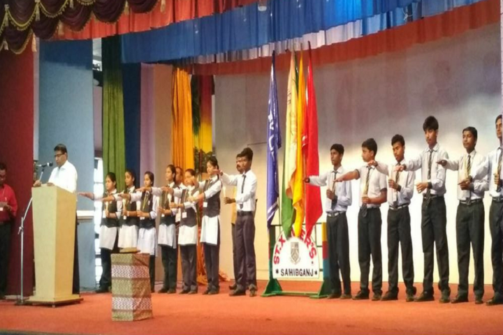 St XavierS School-New Counsil Oath Ceremony