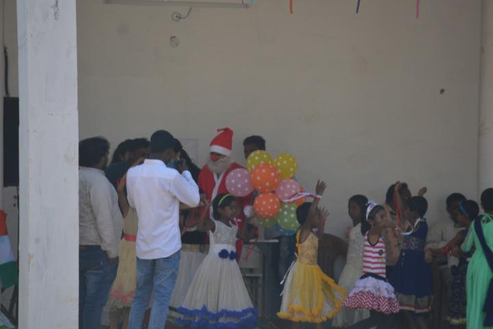 DAV Mukhyamantri Public School-Christmas Celebration