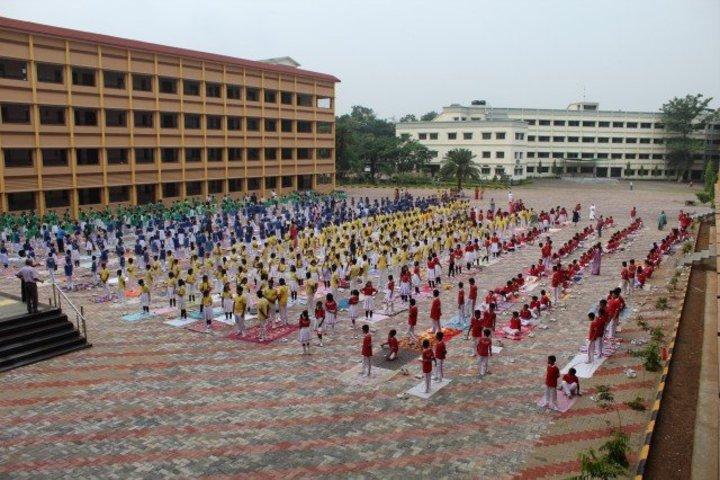 Xavier School-Yoga Day