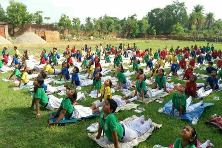 V S Public School-Yoga Activity