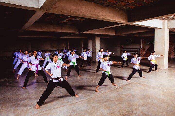 Pallikoodam-Karate Activity
