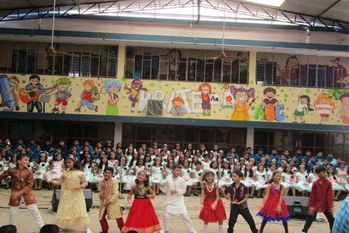 Bishop Moore Vidyapith-Dancing Activity