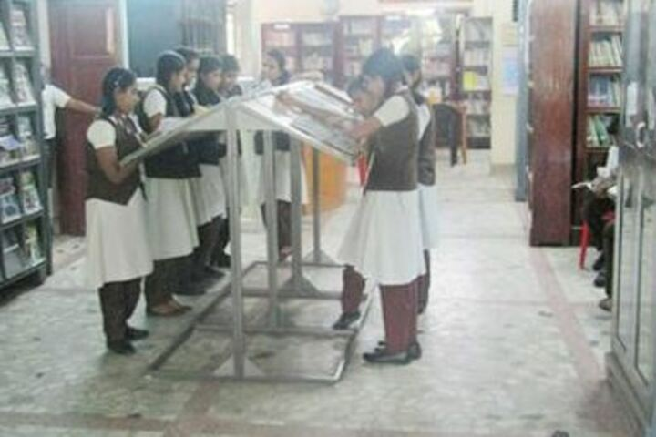 Bishop Moore Vidyapith-Library