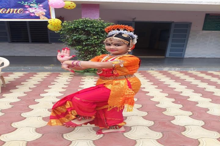 JMJ Global School - Bharatanatyam