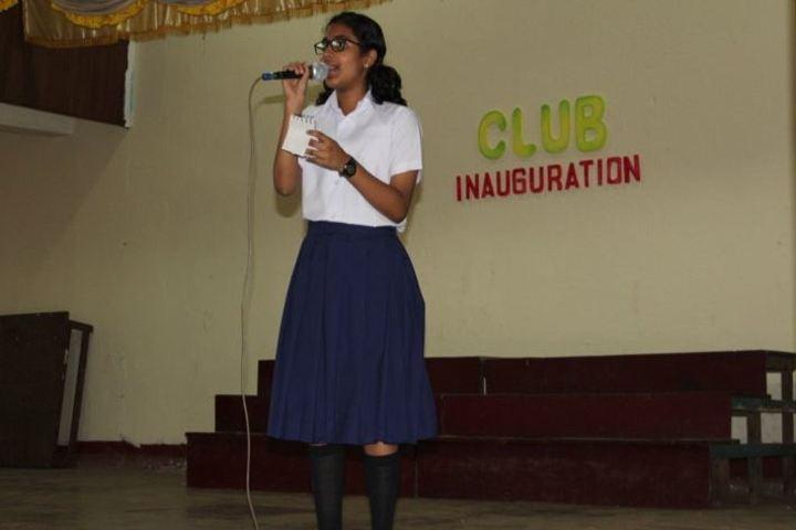 Mar Thoma Residential School-Club Inauguration