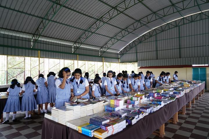 Holy Angels I S C School-Book Fair