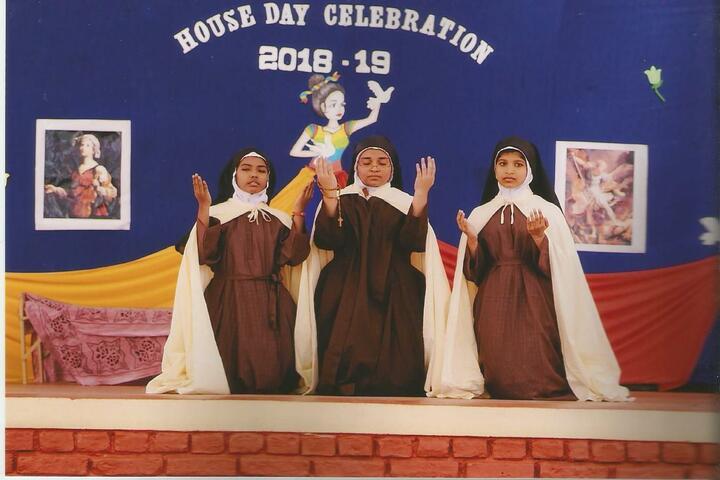 Holy Angels I S C School-House Day Celebrations