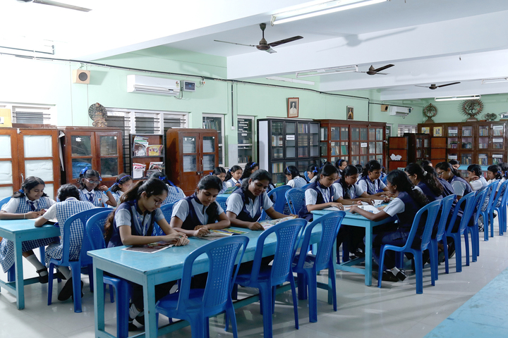 Holy Angels I S C School-Library