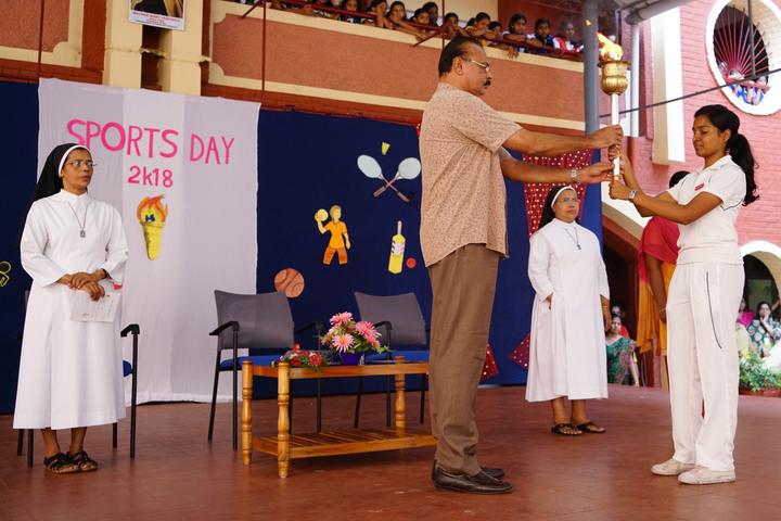 Holy Angels I S C School-Sports Day