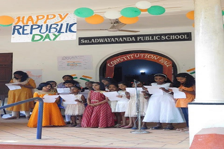 Sri Adwayananda Public School-Republic Day