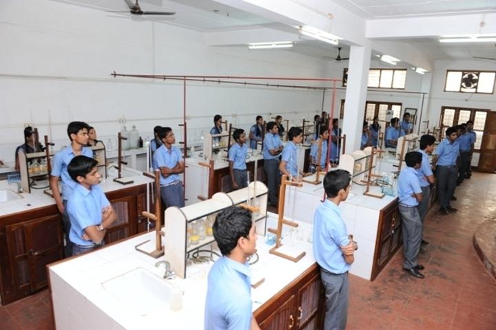 Sreepuram English Medium High School And Junior College-Chemistry Lab