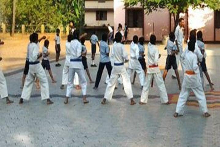 Sreepuram English Medium High School And Junior College-Martial Arts
