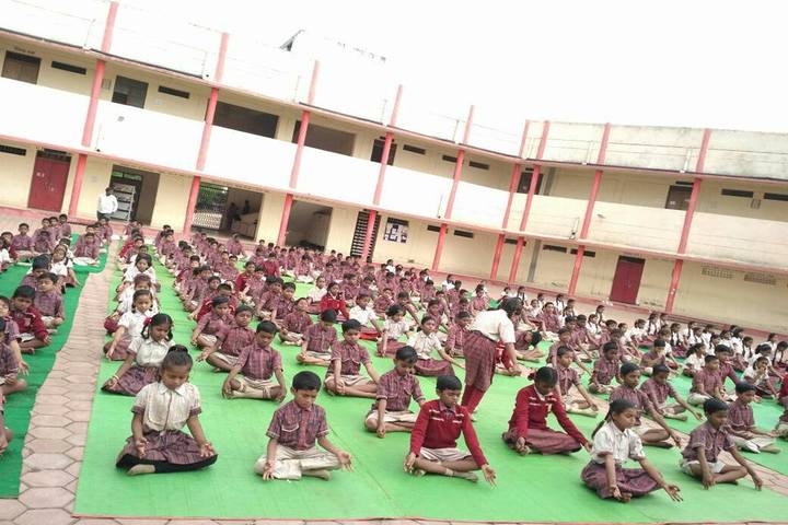 DAV Mukhyamantri Public School-Yoga Day