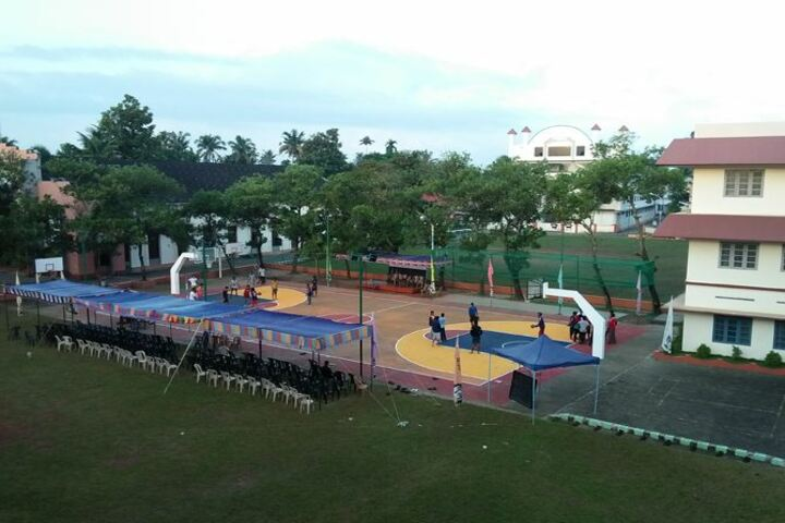 St Peters English Medium High School-Basket Ball Court