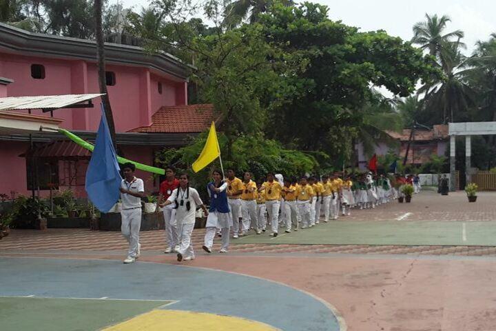 St Peters English Medium High School-March Past