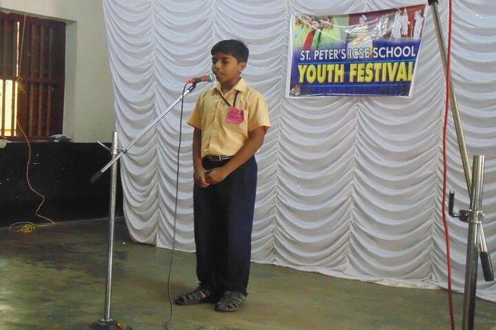 St Peters English Medium High School-Youth Festival