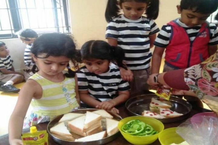 The Indian Public School-Cooking Activity