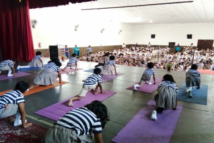 The Indian Public School-Yoga Day