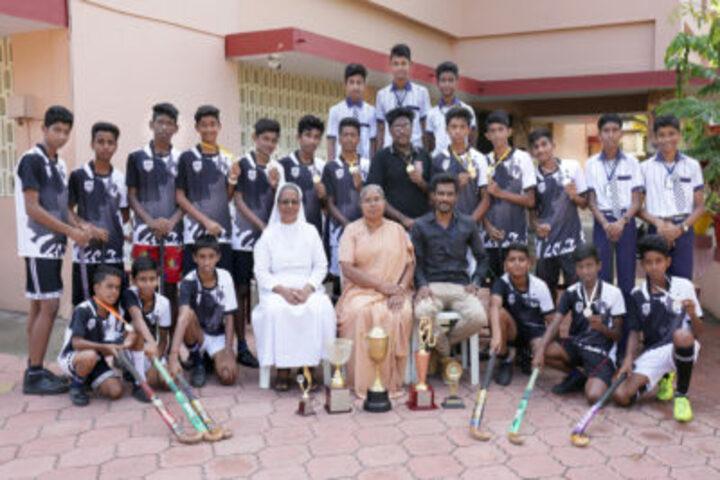 Auxilium English Medium School-Sports Meet
