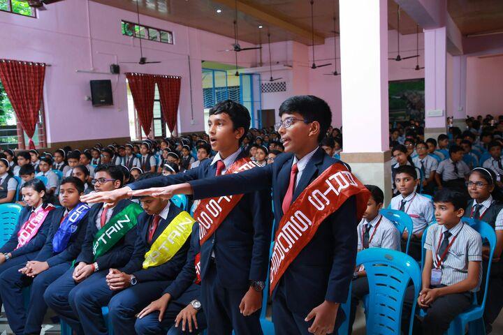 Chavara International School-Investiture Ceremony