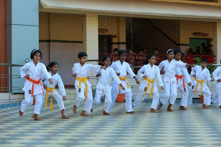 Chavara International School-Karate