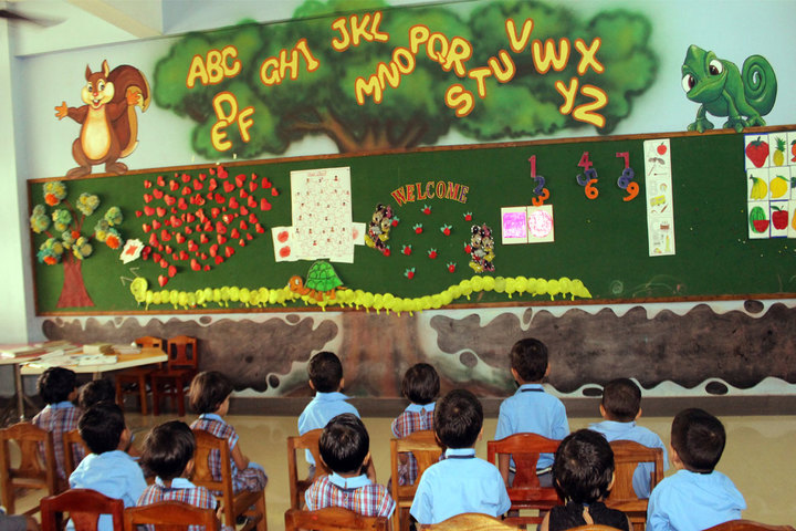 St Patricks Academy- Kindergarten Classroom