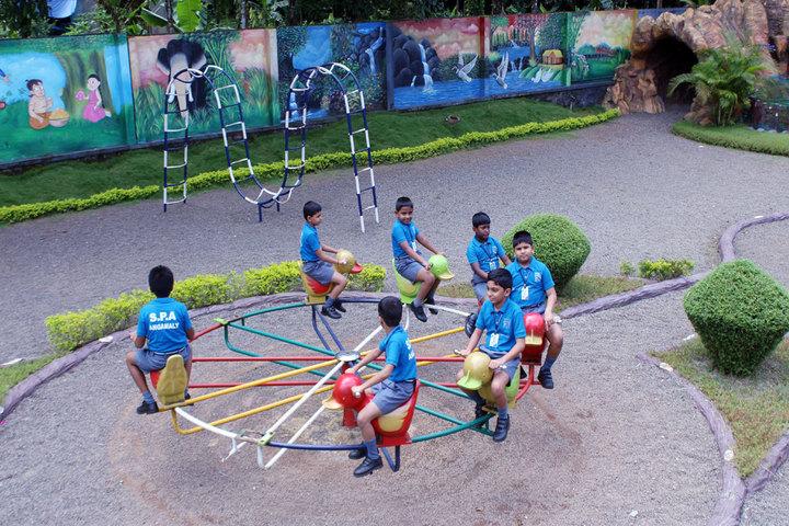 St Patricks Academy-Kindergarten Play Area
