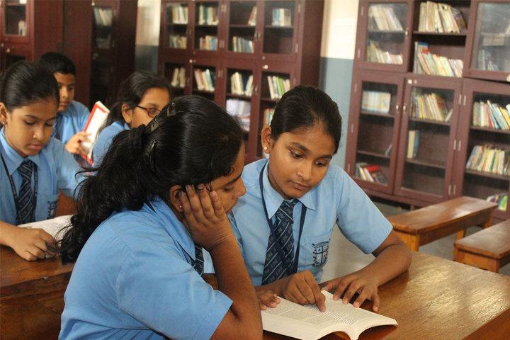 St Patricks Academy-Library