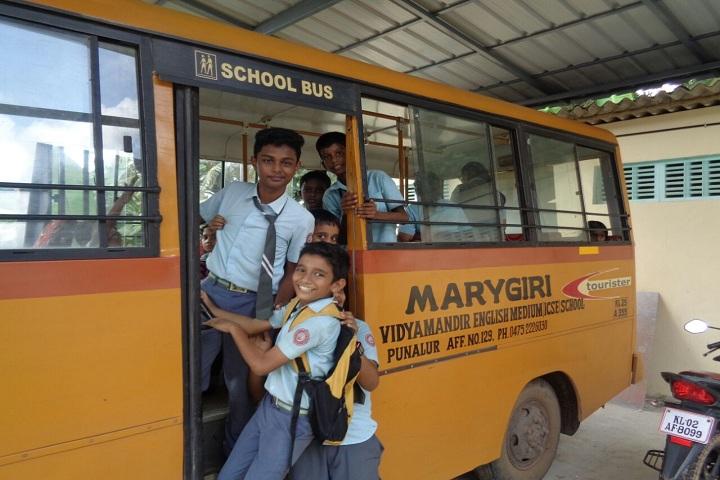Mary Giri Vidya Mandir-Transport