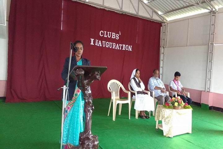 Auxilium English Medium School-Inauguration  Club