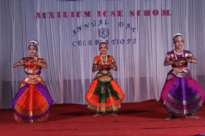 Auxilium English Medium School-Classical Dance