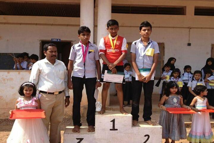 I C E T Public School-Sports Winners