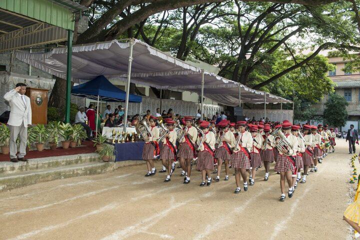 Bishop Cotton Girls School-Band Troop