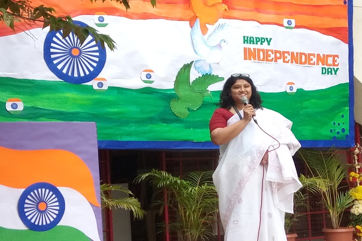 St Pauls English School-Independence Day