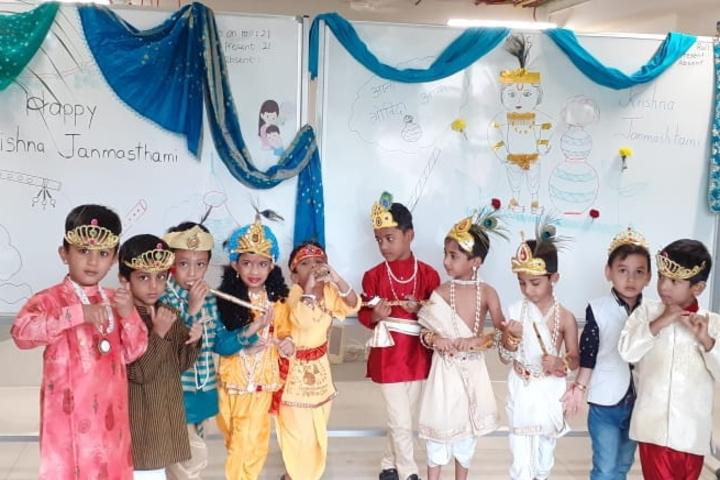 St Pauls English School-Janamastami