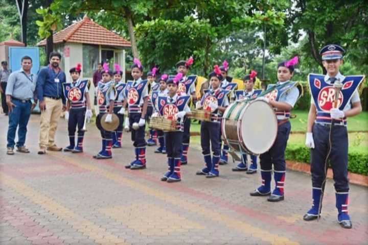 Sharada Residential School-Band Troop