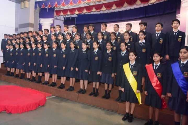 Sharada Residential School-Investiture Ceremony