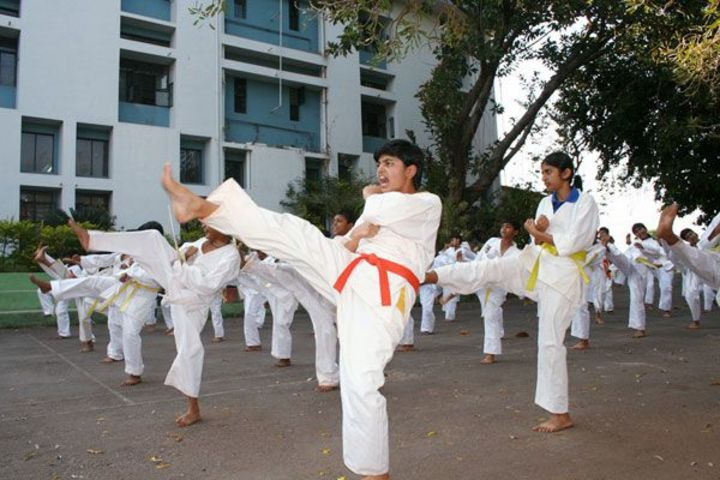 Sharada Residential School-Karate
