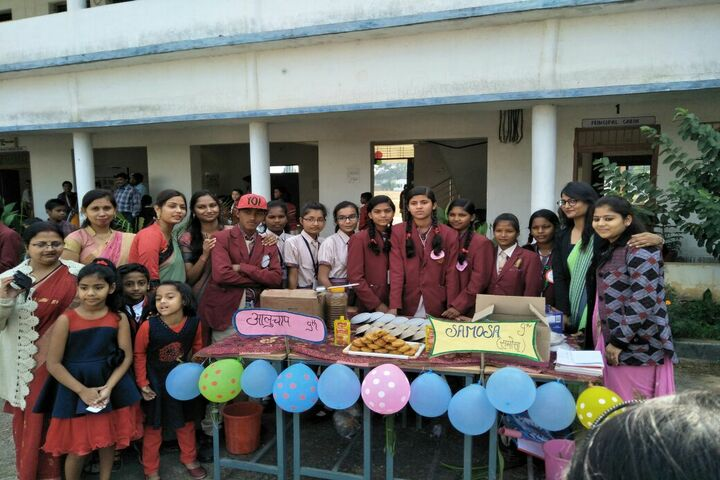 DAV Mukhyamantri Public School-Food Exhibition