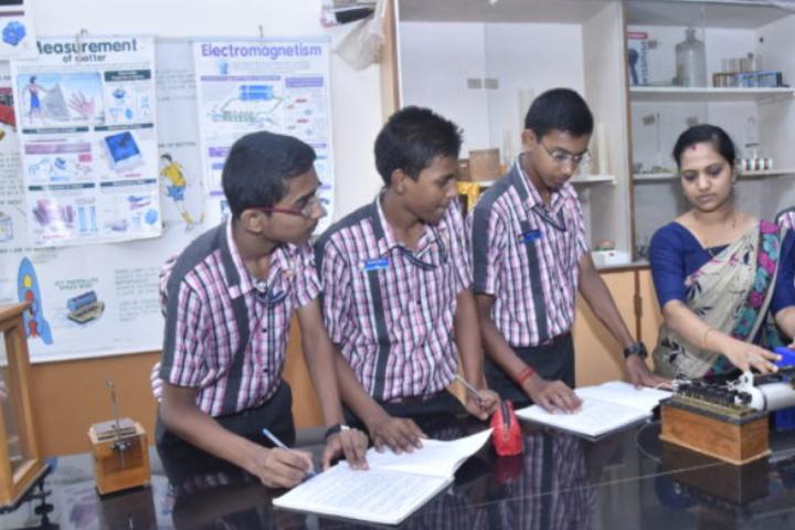 Sri Siddhi Vinayaka Residential School-Biology Lab