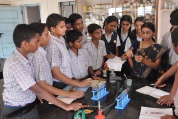 Sri Siddhi Vinayaka Residential School-Chemistry Lab